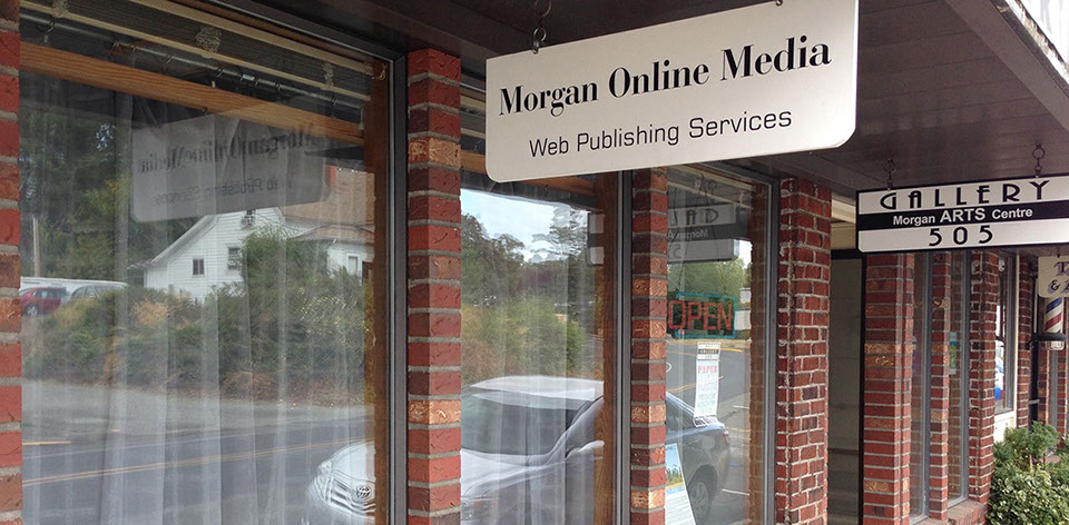 street view of Morgan Online Media offices